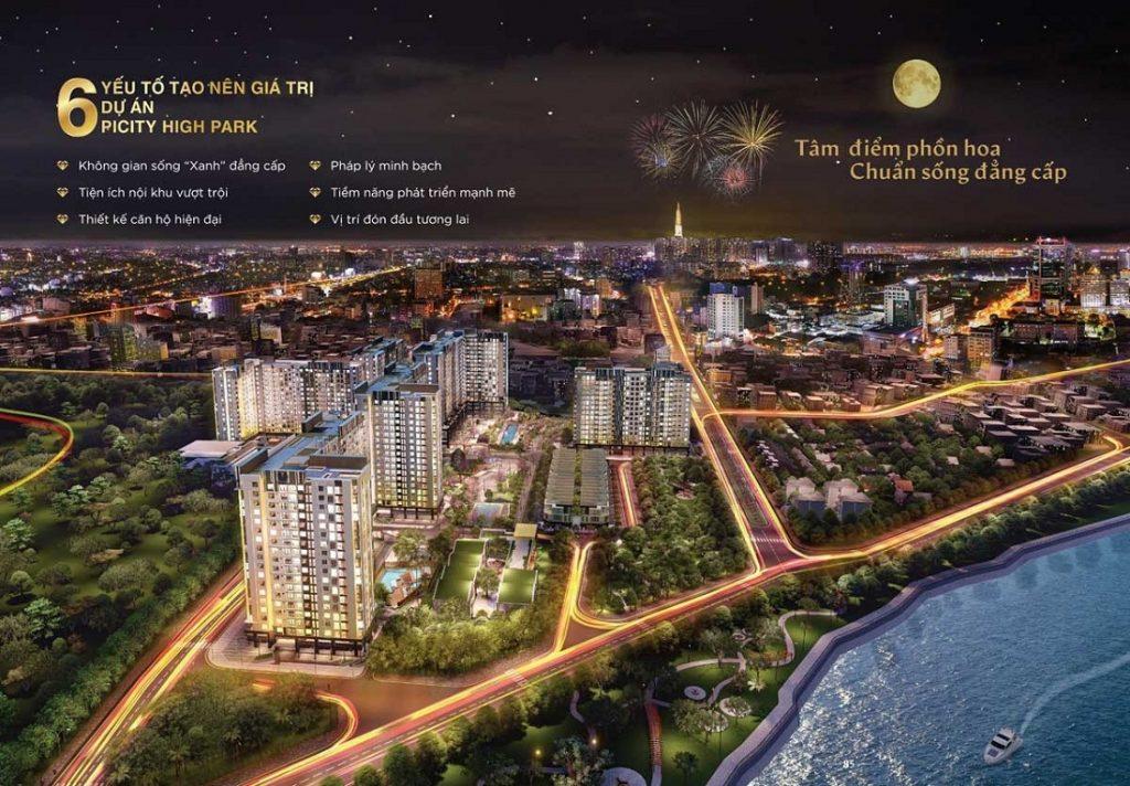 CHUNG CƯ PICITY HIGH PARK QUẬN 12